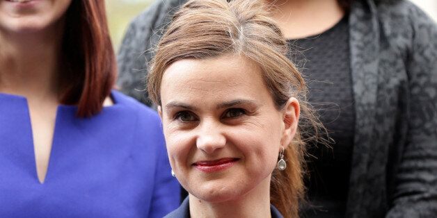 Batley and Spen MP Jo Cox is seen in Westminster May 12, 2015. Yui Mok/Press Association/Handout via...