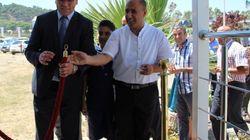 Inauguration d'un prototype de la première maison bioclimatique à