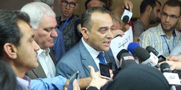 Chafaa Bouaiche, chef du groupe parlementaire du FFS, et Ali