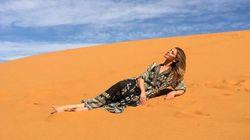 National Geographic envoie un top model australien dans le désert marocain