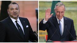 Arrivée au Maroc du président