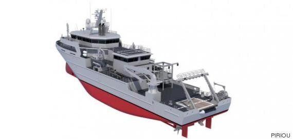 La marine marocaine sera dotée d'un nouveau bâtiment océanographique en