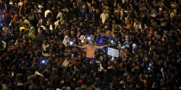 Une manifestation contre Amendis à Tanger, en octobre