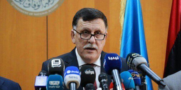 Le Premier ministre du gouvernement d'union nationale libyen, Fayez el-Sarraj, le 30 mars à