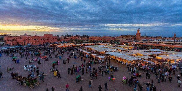La place Jamaa El Fna se désemplit pendant le ramadan, surtout en