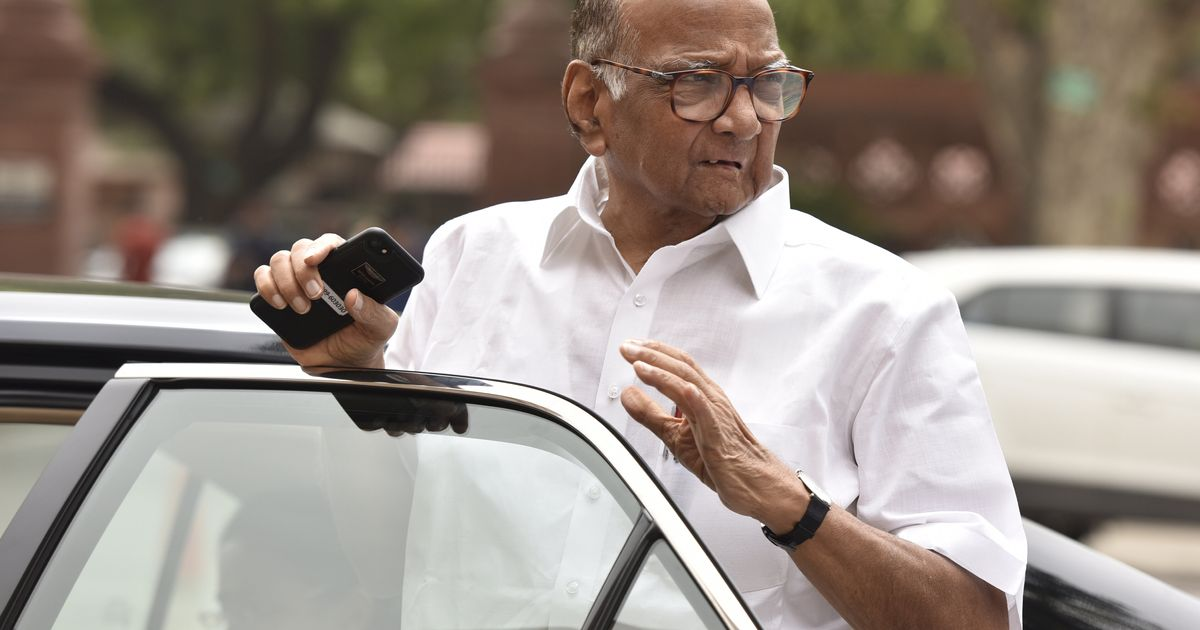 Sharad Pawar Thanks ED For Naming Him In Case Related To Bank He's ...