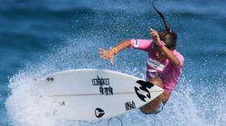 Ces femmes veulent être reconnues comme surfeuses, pas comme