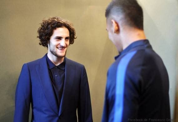 L'équipe de France habillée par l'ex-couturier de Hassan II