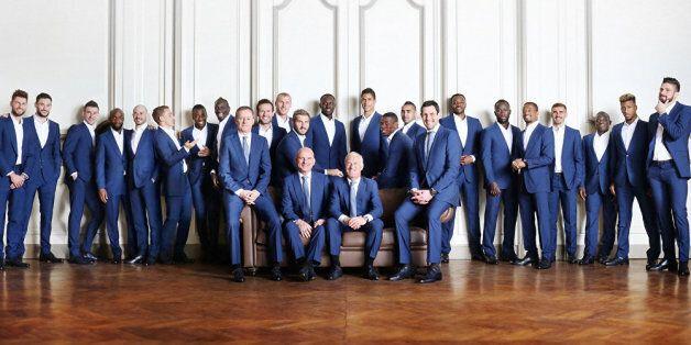 L'équipe de France habillée par