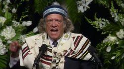 Le poignant discours d'un rabbin lors des obsèques de Mohamed