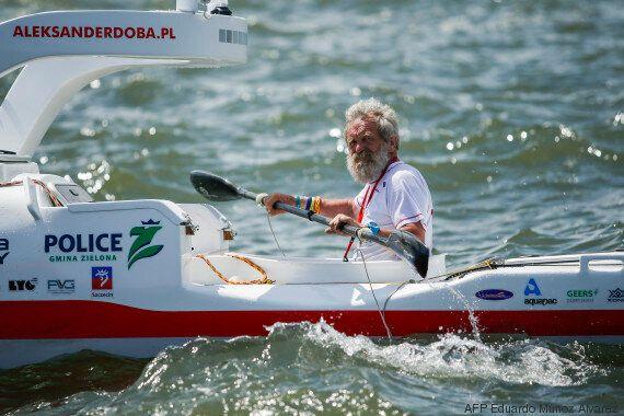 Il traverse l'Atlantique en kayak et veut arriver à Lisbonne pour ses 70