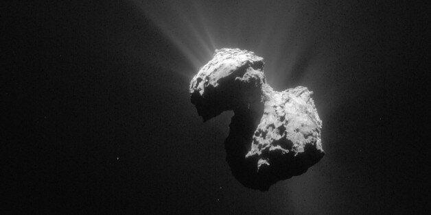 En octobre, la sonde Rosetta détectait de l'oxygène autour de la comète