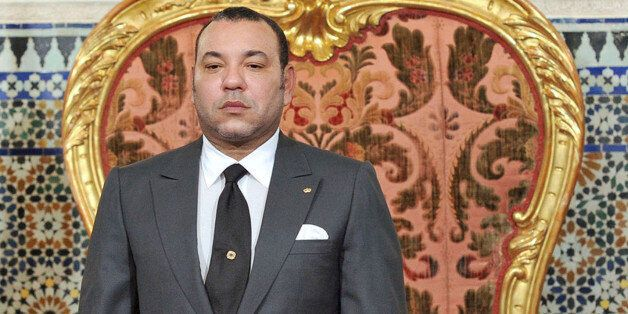 Morocco's King Mohammed prepares to address the nation in Rabat June 17, 2011. Morocco's King Mohammed...