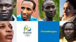 Découvrez la 1ère équipe de réfugiés de l'histoire des