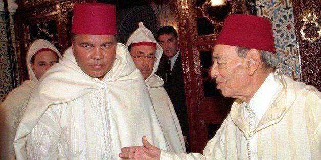 Mohamed Ali et Hassan II, à Rabat, en janvier