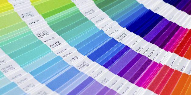 open Pantone sample colors