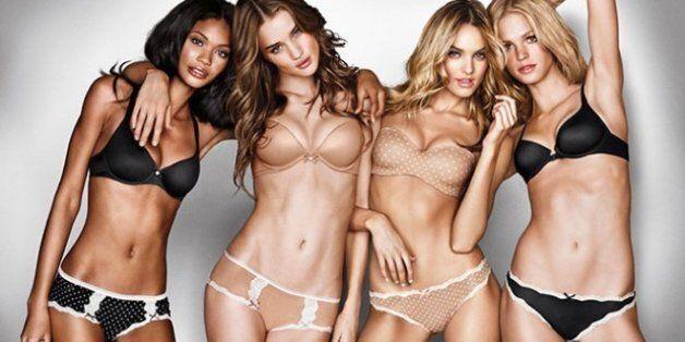 Publicité de la marque de lingerie Victoria's