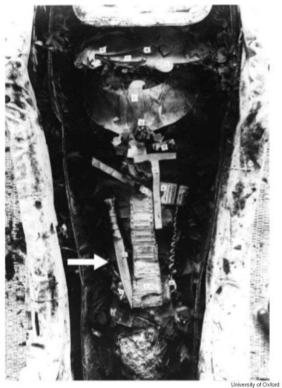 La dague de Toutânkhamon a été fabriquée à partir d'une