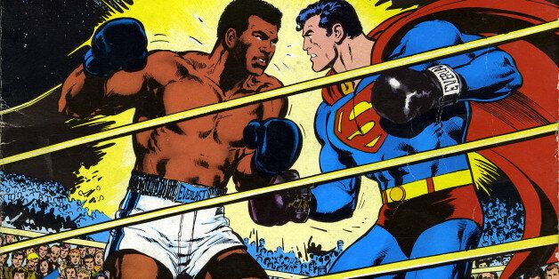 Quand Mohamed Ali affrontait Superman pour DC