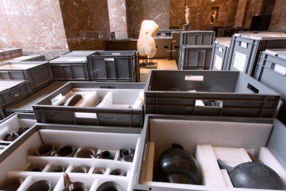 Inondation de la Seine : les réserves du musée du Louvre