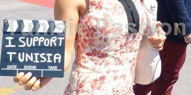 A Cannes, les stars soutiennent la Tunisie grâce à l'association Tunisie