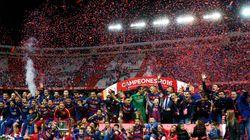 Football: le FC Barcelone gagne sa 28e Coupe du