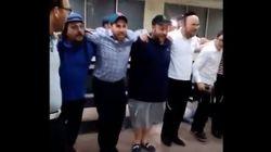 Une vidéo de juifs dansant à l'aéroport de Casablanca fait le