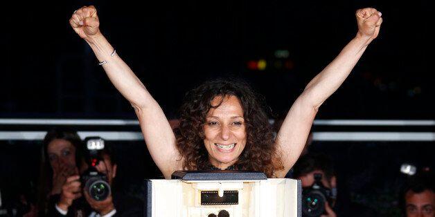 La réalisatrice Houda Benyamina, le 22 mai à