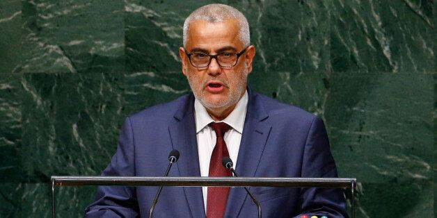 Abdelilah Benkirane, Prime Minister of the Kingdom of Morocco, addresses the 69th United Nations General...