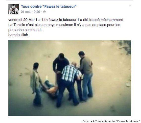 Le tatoueur tunisien Fawez Zahmoul se fait tabasser après une campagne menée contre lui sur
