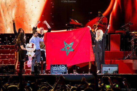 Revivez le concert de Christina Aguilera à Mawazine