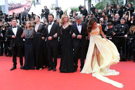 Amal Clooney et Caitriona Balfe, premières victimes du vent de Cannes
