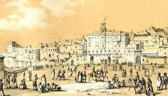 Ce qu'était la place des Martyrs à Alger, il y a 180