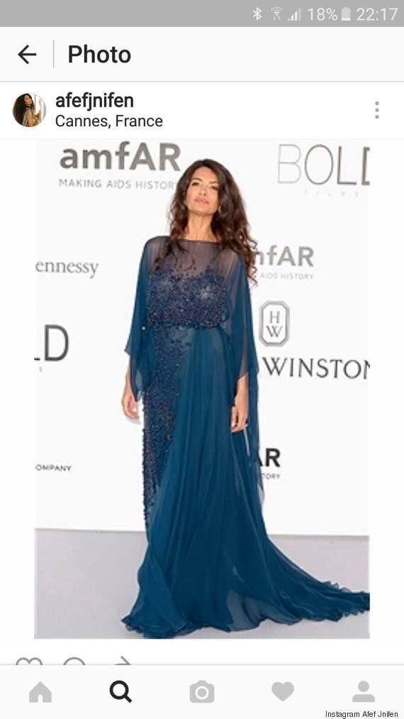 La tunisienne Afef Jnifen présente à la 69ème édition du festival de Cannes