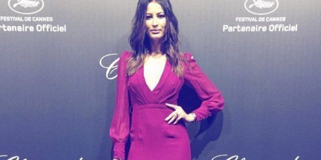 La superbe robe de Rym Saidi à une fête privée lors du festival de Cannes