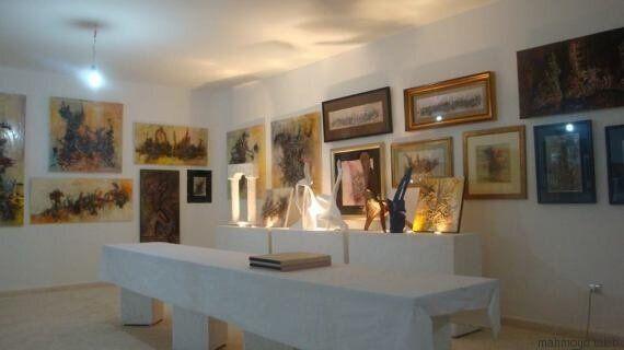 L'artiste peintre Mahmoud Taleb, inaugure sa galerie à