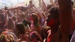 La fête hindoue Holi en juin à