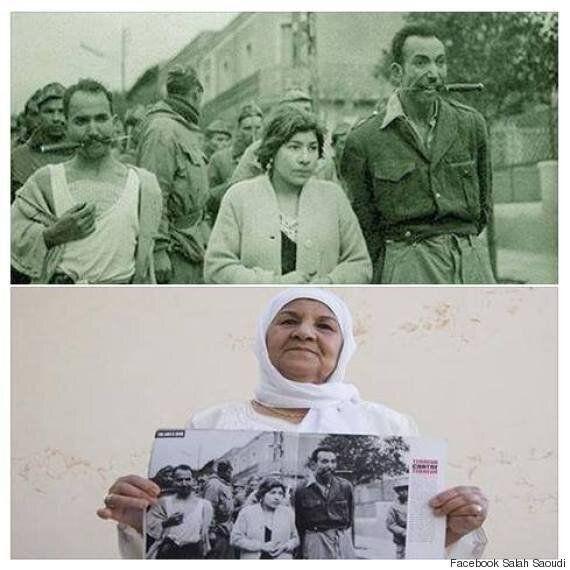 Saida, décembre 1959, une femme, deux hommes poignards dans la bouche : une photo, une