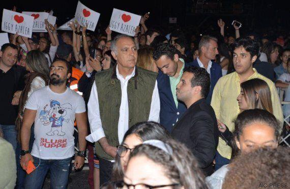 Salaheddine Mezouar au concert d'Iggy