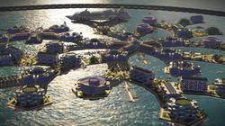 Artisanapolis, la ville flottante et modulable du