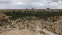 L'oasis de Chenini, un coin de