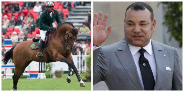 Equitation: Le roi reçoit un prix pour son cheval Quickly de