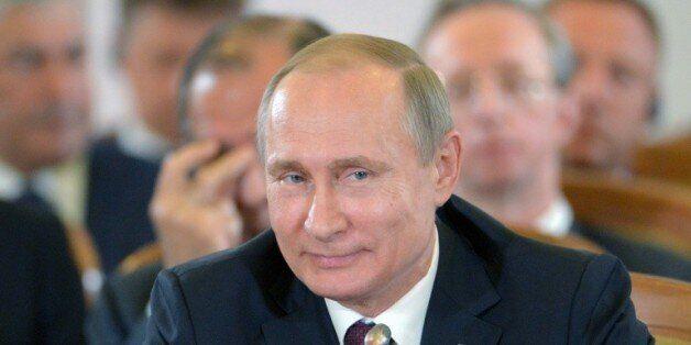 Le président russe Vladimir Poutine à Sotchi en Russie, le 20 mai
