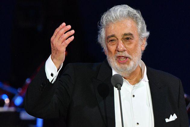 El tenor Plácido Domigo, en Hungría el 28 de agosto de