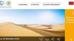 La COP22 se dote d'un site