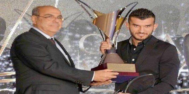 Amir Sayoud, milieu de terrain du DRB Tadjenanet, sacré meilleur joueur de la saison