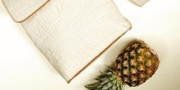 Le cuir d'ananas sera-t-il le péché mignon de la