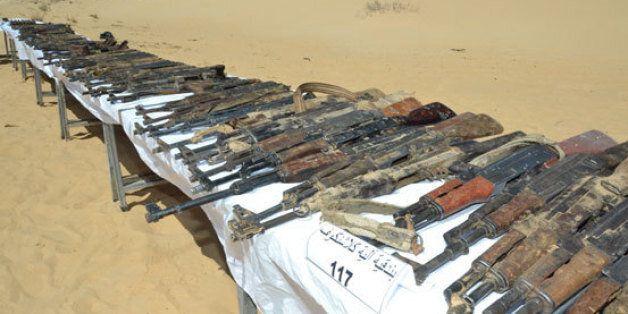 Découverte de 137 armes et de grandes quantités de munitions à Bir-Dher à El Oued