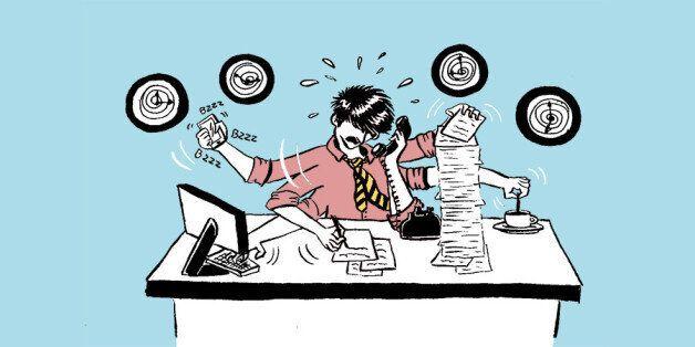 La routine extraordinaire de la vie d'agence: Les