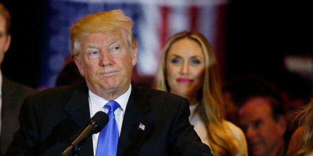 Donald Trump le 3 mai 2016 à New
